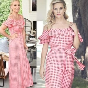 Draper James | Dolly Gingham Plaid Maxi Dress